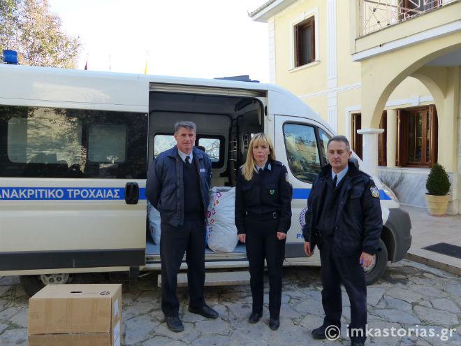 Πράξη αγάπης από τις Αστυνομικές Υπηρεσίες Καστοριάς (φωτογραφίες)