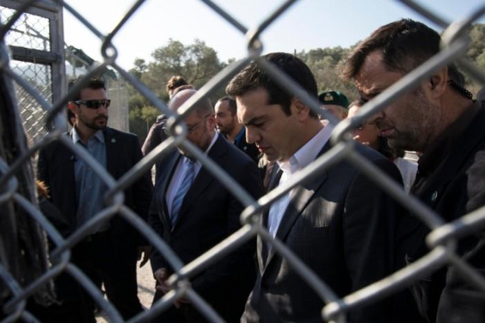 Στην Χίο ο πρωθυπουργός για την επίβλεψη της δημιουργίας του Κέντρου Υποδοχής