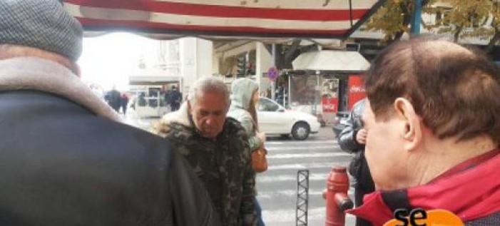 Θεσσαλονίκη: Στο πόστο του και πάλι ο καστανάς