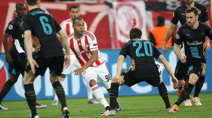 Ολυμπιακός-Άρσεναλ 0-3. Στο Europa League συνεχίζουν οι ερυθρόλευκοι