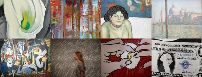 Αυτά είναι τα 17 έργα τέχνης που πωλήθηκαν για αδιανόητα τεράστια ποσά μέσα στο 2015