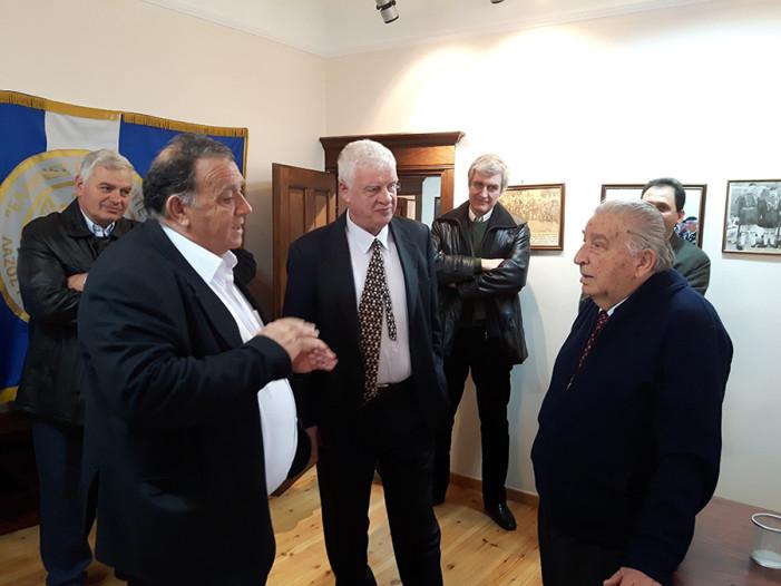 Επίσκεψη Αγγελή στο Μουσείο Μακεδονικού Αγώνα