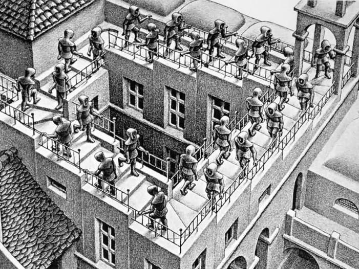 Τα παιδιά ανακαλύπτουν τον καλλιτέχνη Escher στην Καστοριά
