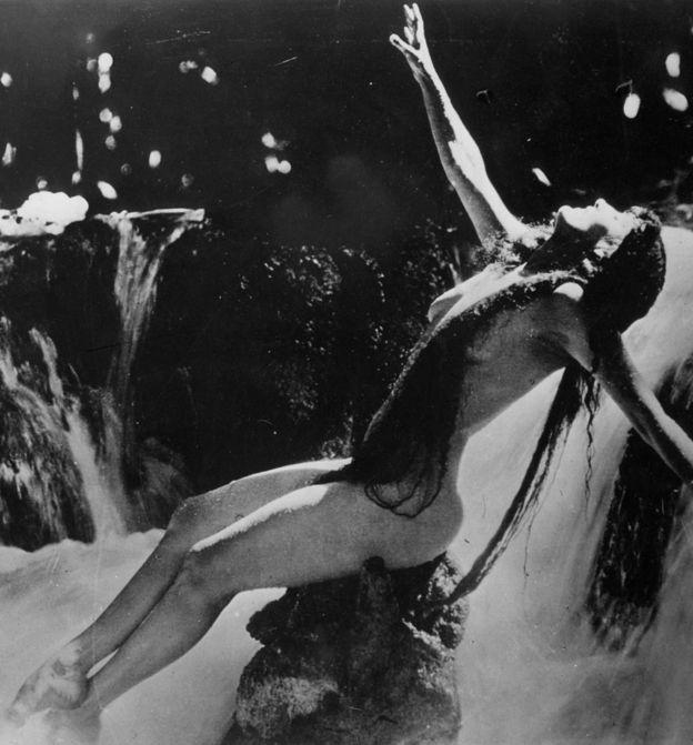 Η πρώτη γυμνή σταρ του Χόλιγουντ