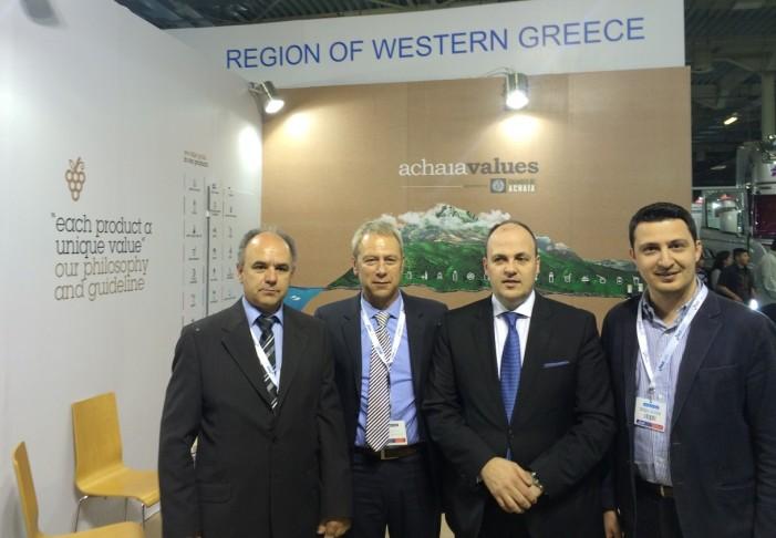 Δυναμική παρουσία της Περιφέρειας Δυτικής Ελλάδας στην 3η Food Expo