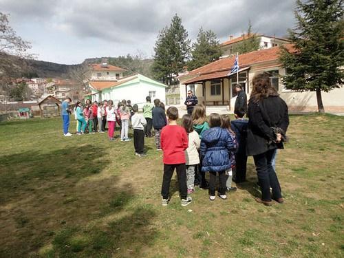 Νεστόριο: Άσκηση ετοιμότητας για σεισμό