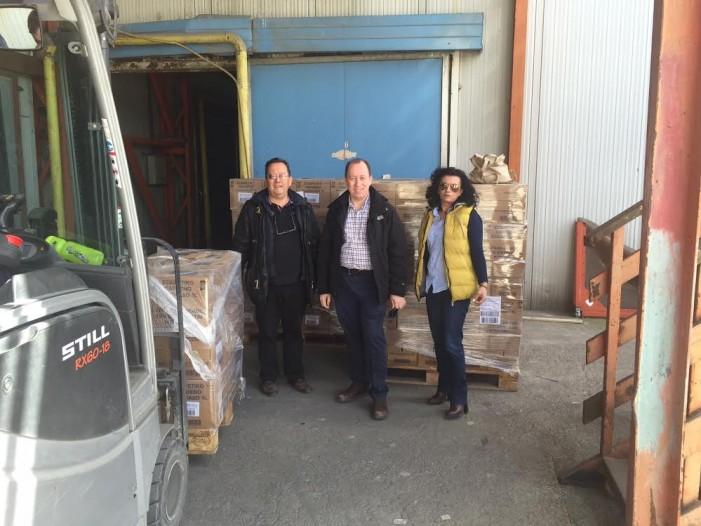 Συνεχίζεται  η παραλαβή τροφίμων & ειδών από την Π.Ε. Καστοριάς  στο πλαίσιο του ΤΕΒΑ