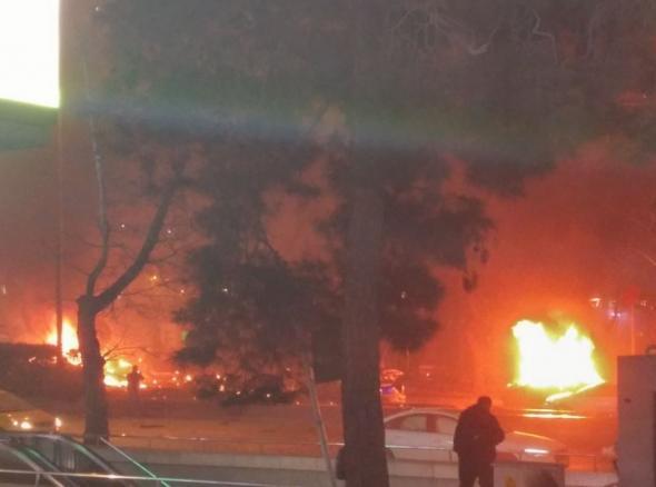 Ανάληψη ευθύνης για την επίθεση αυτοκτονίας στην Άγκυρα – Προειδοποίηση για νέο χτύπημα