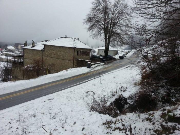 Η χιονισμένη Κοτύλη