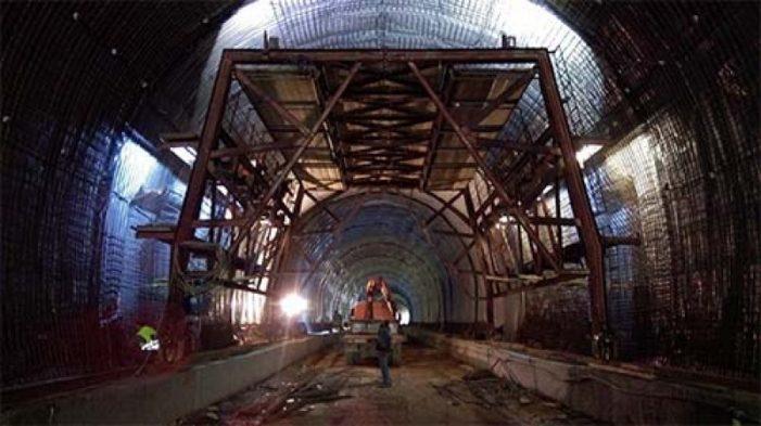 Κρυσταλλοπηγή: Φωτογραφίες από την κατασκευή τούνελ στον κάθετο Άξονα της Εγνατίας