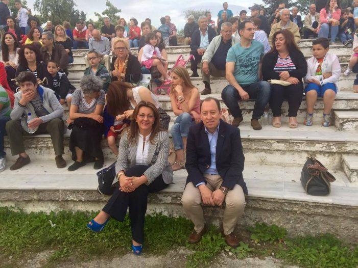 Η Μαρία Αντωνίου παρούσα σε πολλές και σημαντικές εκδηλώσεις της Καστοριάς