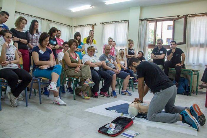Το σεμινάριο BLS της Ελληνική Εταιρία Επείγουσας Προνοσοκομειακής Φροντίδας Καστοριάς (φωτογραφίες)