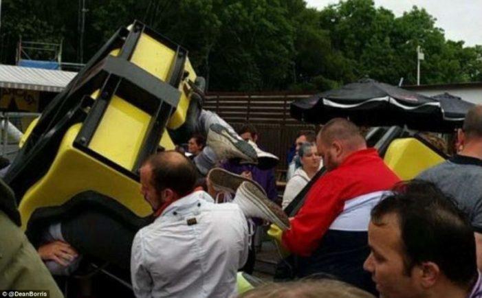 Πανικός σε λούνα παρκ της Σκωτίας – 10 τραυματίες (Photos)
