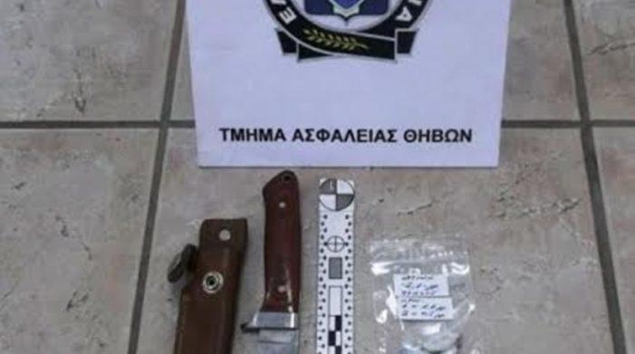 Θήβα: Συνελήφθη ληστής που τραυμάτισε τρεις αστυνομικούς