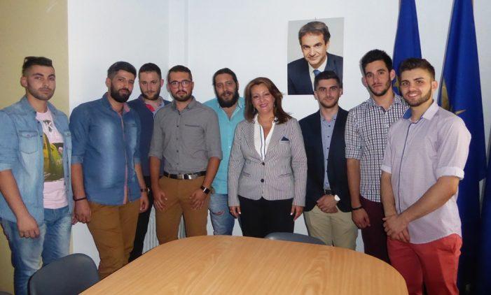 Βασική ομιλήτρια και συντονίστρια στη ΝΟΔΕ Φλώρινας η Μαρία Αντωνίου
