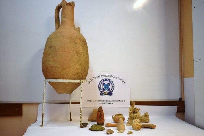 Συνελήφθη 79χρονος αρχαιοκάπηλος (Photos)
