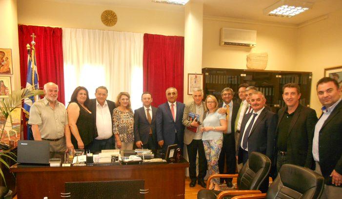 Συνάντηση Αγγελή με Αζέριους Καθηγητές και τον υφυπ. Παιδείας Θ. Πελεγρίνη
