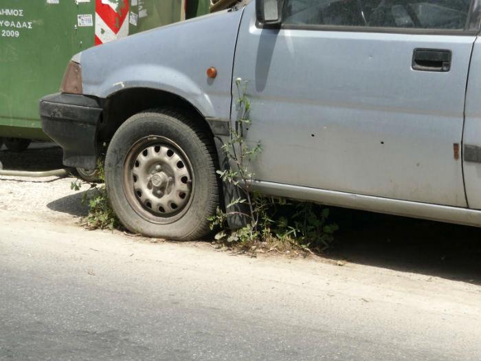 Δήμος Καστοριάς: Καμπανάκι για τα εγκαταλελειμμένα όχηματα