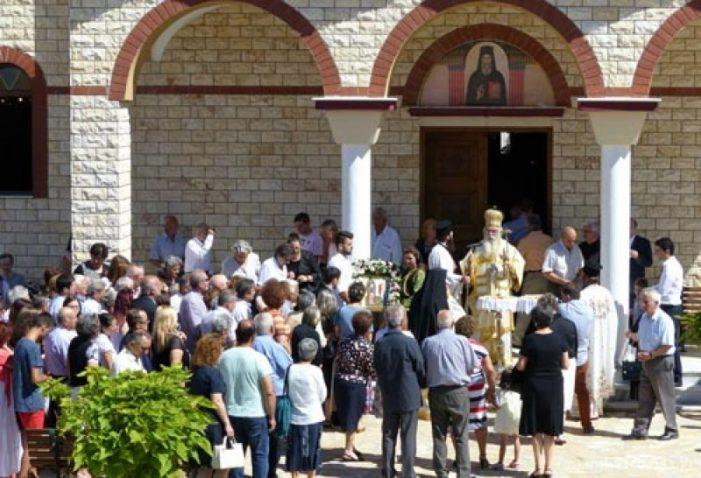 Καστορίας Σεραφείμ: «Να μείνουμε πιστοί στην Ορθόδοξη Εκκλησία» – Φωτογραφίες από τη Θεία Λειτουργία στον Ι.Ν. Αγίου Νεκταρίου Άργους Ορεστικού