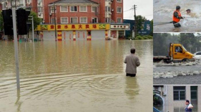 Φονικές πλημμύρες στην Κίνα: 186 οι νεκροί