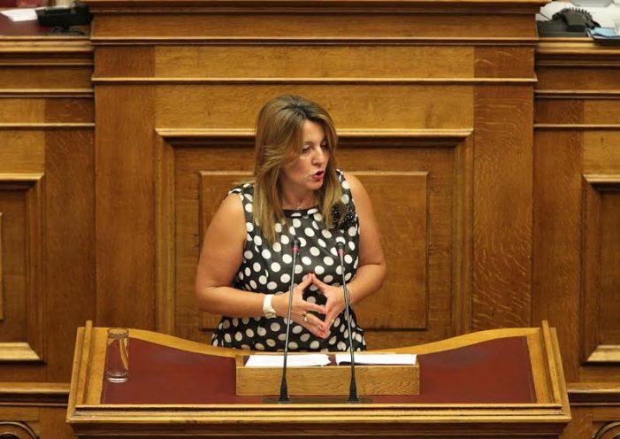 Μαρία Αντωνίου: Ερώτηση για την αντίδραση και τη λειτουργία των αρμόδιων Υπηρεσιών στην τραγωδία της Αίγινας