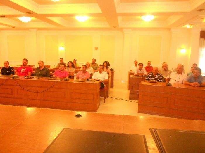 Συνάντηση Αγγελή με Προέδρους Δημοτικών και Τοπικών Κοινοτήτων