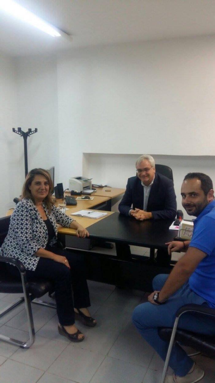 Συνάντηση Τελιγιορίδου – Ζυμπίδη με τον πρόεδρο της Εγνατίας Οδού