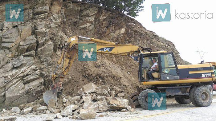 Κατολισθήσεις και στην Κλεισούρα – Πυρετώδεις εργασίες αποκατάστασης (φωτο)