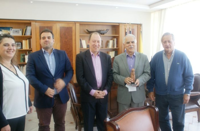 Καστοριά: Ο υφυπ. Εσωτερικών Γ. Μπαλάφας συναντήθηκε με τις Αρχές του Τόπου