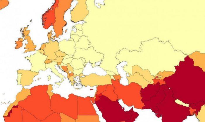 Ποιες χώρες έχουν τις περισσότερες γυναίκες