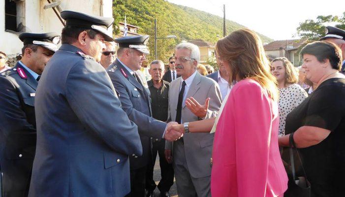 Η Μαρία Αντωνίου τίμησε την Ημέρα Ελληνικής Αστυνομίας
