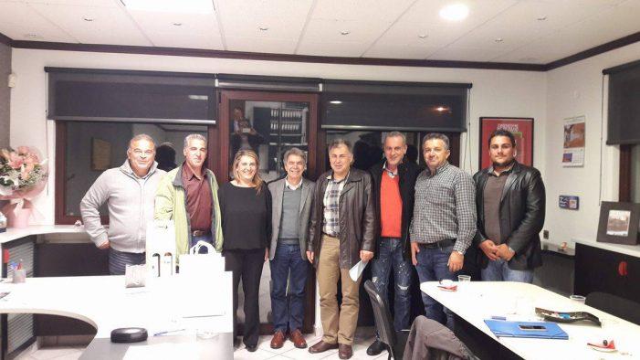 Συνάντηση Τελιγιορίδου – Κασίμη με τους Αγροτικούς Φορείς του Νομού