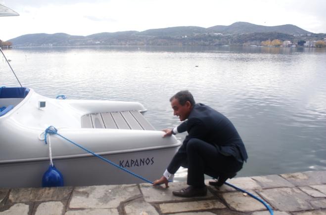 Ενημερωτική Ημερίδα του έργου «G.AL.E.T.: Greece-Albania Energy Tourism» στην ΠΕ Καστοριάς.Τελετή αγιασμού του ηλιακού σκάφους