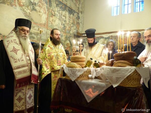 Ο εορτασμός των Αγίων Γουρία, Σαμωνά και Αβίβου στον Ναό τους (ΦΩΤΟ)