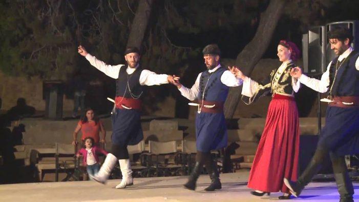 Αθανάσιος Χριστόπουλος: Διήμερο σεμινάριο παραδοσιακών χορών της Κρήτης