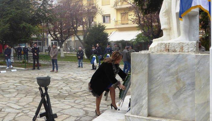 Το μήνυμα της Μ. Αντωνίου για την Ημέρα των Ενόπλων Δυνάμεων (φωτογραφίες)