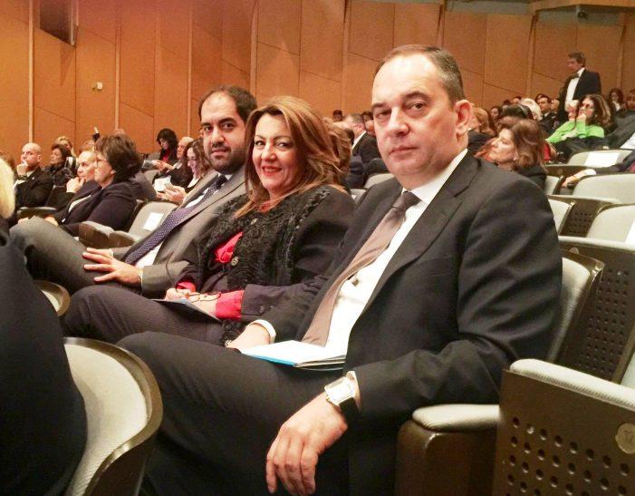 Σε εκδήλωση της UNESCO και του Ιδρύματος «Μαριάννα Β. Βαρδινογιάννη» η Μαρία Αντωνίου, παρουσία του Προέδρου της Δημοκρατίας