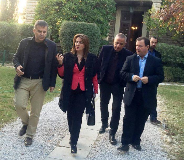 Επίσκεψη της Μαρίας Αντωνίου στο Εθνικό Αστεροσκοπείο Αθηνών