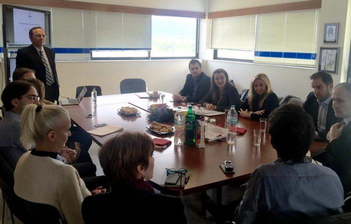 Επίσκεψη της Μαρίας Αντωνίου στο Ερευνητικό Κέντρο Καινοτομίας στις Τεχνολογίες της Πληροφορίας, των Επικοινωνιών και της Γνώσης – «Αθηνά»