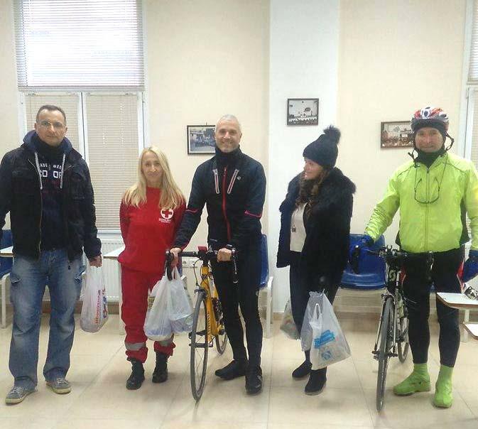 Ποδηλατικός Σύλλογος Καστοριάς 620: Παραδόθηκαν τα τρόφιμα της ποδηλατοβόλτας προσφοράς και αγάπης