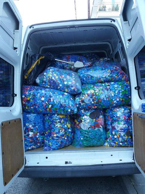 Σύλλογος Νεφροπαθών Καστοριάς: Συνεχίστε να μαζεύετε πλαστικά καπάκια