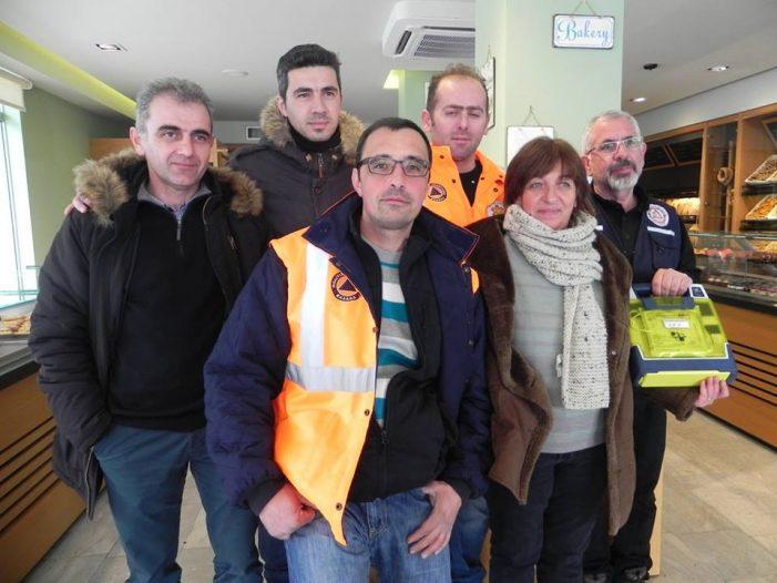 Πραγματοποιήθηκε η τοποθέτηση του πρώτου Αυτόματου Εξωτερικού Απινιδωτή στην Καστοριά