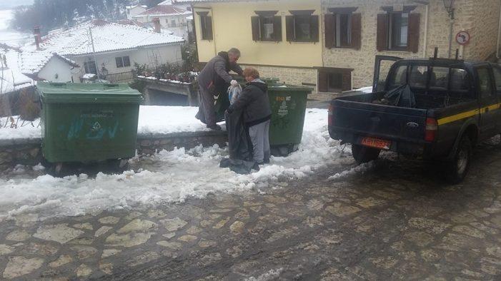 Το «ευχαριστώ» της Ματούλας Αντωνίου στους υπαλλήλους καθαριότητας του Δήμου Καστοριάς