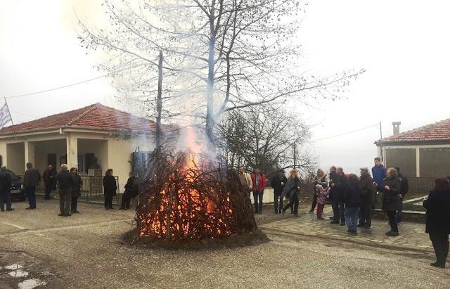 Το έθιμο της Παλιαπούλιας στο Καστανόφυτο (μεγάλο φωτορεπορτάζ)