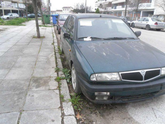 Προσοχή: Απομάκρυνση εγκαταλελειμμένων οχημάτων από το Δήμο Καστοριάς