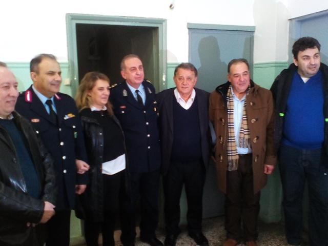 Έκοψε την πρωτοχρονιάτικη πίτας η Αστυνομία Καστοριάς