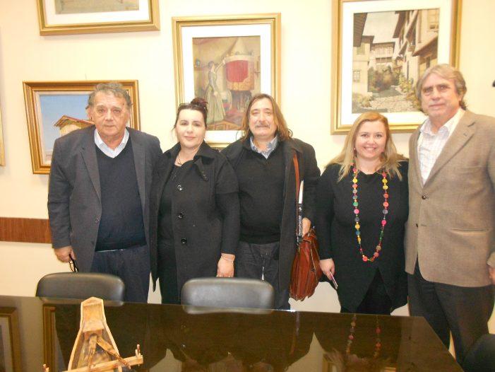 Ο επιστημονικά υπεύθυνος της Ε.Θ.Μ.Α., Στέργιος Νότας, επισκέφθηκε τον Δήμαρχο Καστοριάς
