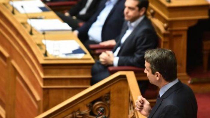 Μητσοτάκης στον Τσίπρα: Τελικά είστε πρωθυπουργός ή προβοκάτορας;