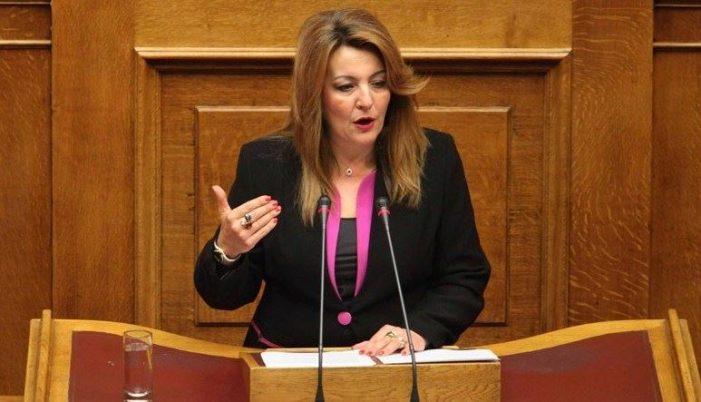 Ομιλία της Μαρίας Αντωνίου στην Ολομέλεια της Βουλής (Video)