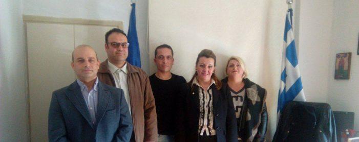 Την Μαρία Αντωνίου επισκέφθηκε αντιπροσωπεία της Ένωσης Στρατιωτικών Π.Ε. Καστοριάς
